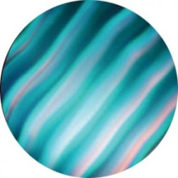 Rosco ColorWaves - Cyan Waves - B size