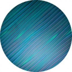 Rosco ColorWaves - Cyan Strands - B size