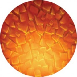 Rosco ColorWaves - Amber Mosaic - B size
