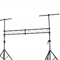 Meteor LS-55 Stand - Dual Connecting Bars with Crank