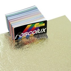 Rosco Cinegel 3812 Featherflex Silver/Gold - 20in. x 24in. Gel Sheet