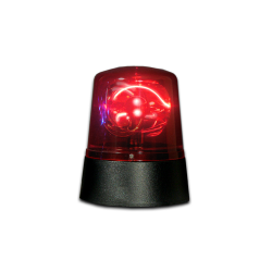 Fortune Mini Police Beacon - Red - Battery Operated