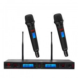 Nady 2W-1KU HT Dual True Diversity 1000-Channel Pro UHF Wireless