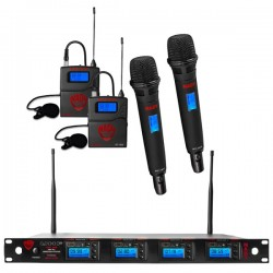 Nady 4W-1KU HT Quad True Diversity 1000-Channel Pro UHF Wireless