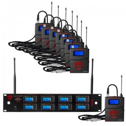 Nady 8W-1KU GT Octo True Diversity 1000-Channel Pro UHF Mic Wireless