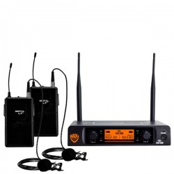 Nady Dual Digital Wireless Lapel Microphone System