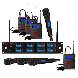 Nady 8W-1KU HT Octo True Diversity 1000-Channel Pro UHF Wireless