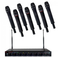 Nady Eight Wireless handheld microphones