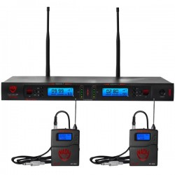 Nady 2W-1KU GT Dual True Diversity 1000-Channel Pro UHF Wireless