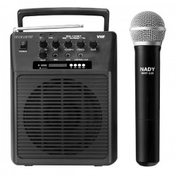 Nady Wireless Portable Compact PA Full-Range Speaker System