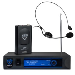 Nady Wireless Headmic VHF Microphone System