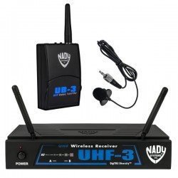 Nady Wireless Lavalier Microphone System with True Diversity