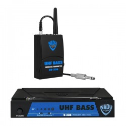 Nady UHF Wireless Bass Guitar Instrument System with True Diversity