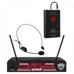 Nady Wireless Headset Microphone System with True Diversity