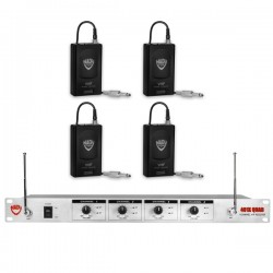 Nady Wireless 4-Channel Instrument / Guitar System
