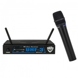 Nady Wireless Handheld Microphone System with True Diversity