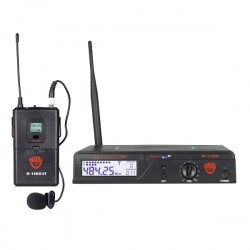 Nady 100-Channel UHF Wireless Lavalier Microphone System