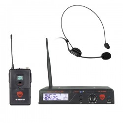 Nady 100-Channel UHF Wireless Headset Microphone System