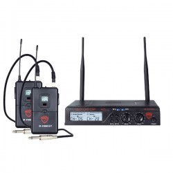 Nady Dual GT 200-Channel UHF Wireless Instrument/Guitar System