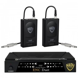 Nady Wireless Dual Channel Instrument Guitar System