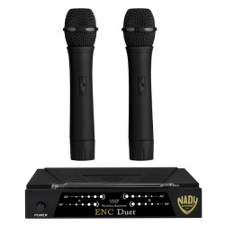 Nady Wireless Dual Channel Handheld Microphone System