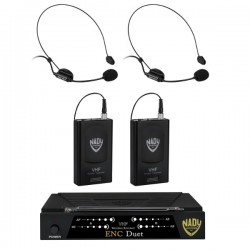 Nady Wireless Dual Channel Headset Microphone System