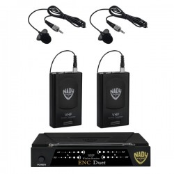 Nady Wireless Dual Channel Lavalier Microphone System