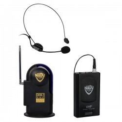 Nady VHF Wireless Headmic Microphone System