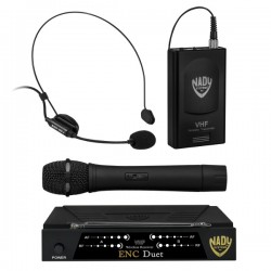 Nady Wireless Dual Channel Handheld / Headset Microphone System