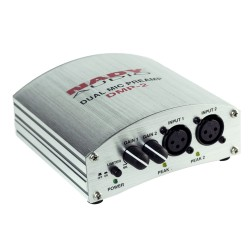 Nady Dual Channel Microphone Preamp