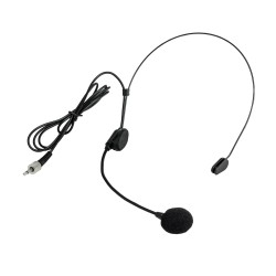 Nady Unidirectional Condenser Headworn Microphone - 3.5mm Connection