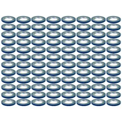 Rosco GaffTac 1/2in. Blue Spike Tape 12mm x 25m - 96 ct.