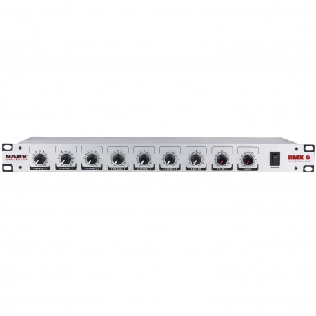 Nady Six-Channel Rack Mounted Mixer