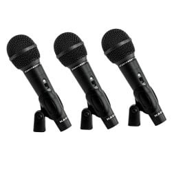 Nady Microphone 3-Pack