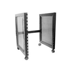 Nady 14U 4-Wheel Metal Rack