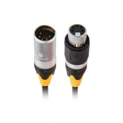 Chauvet Professional IP Rated 5-Pin 25' DMX Cable