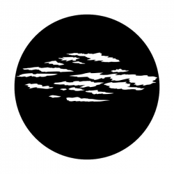 Apollo Metal Gobo 1073 Somber Clouds