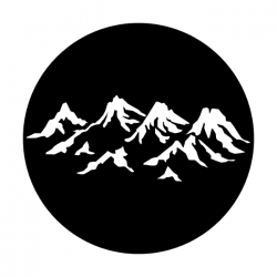 Apollo Metal Gobo 1121 Mountain Range