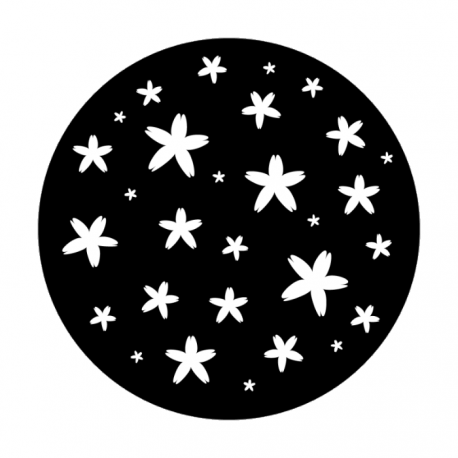 Apollo Metal Gobo 1157 Asterisk Flowers