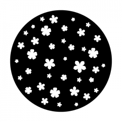 Apollo Metal Gobo 1158 Floating Blossoms