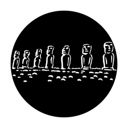 Apollo Metal Gobo 1209 Easter Island