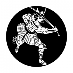 Apollo Metal Gobo 1219 Asian Samurai