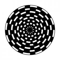Apollo Metal Gobo 1316 Vortex Checkerboard