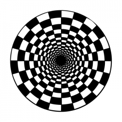 Apollo Metal Gobo 1317 Spinning Checkerboard