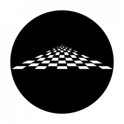 Apollo Metal Gobo 1321 Vanishing Checkerboard