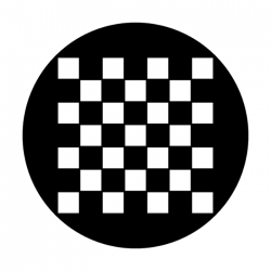 Apollo Metal Gobo 2007 Checkerboard Plain