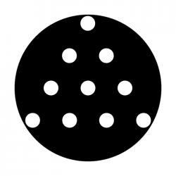Apollo Metal Gobo 2077 Chinese Checkers
