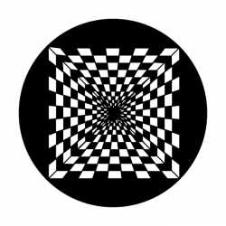 Apollo Metal Gobo 2093 Crazy Checkerboard