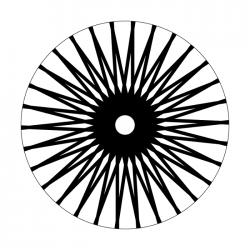 Apollo Metal Gobo 2169 Spokes