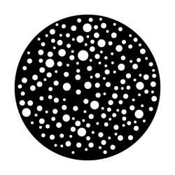 Apollo Metal Gobo 2250 Dots Small